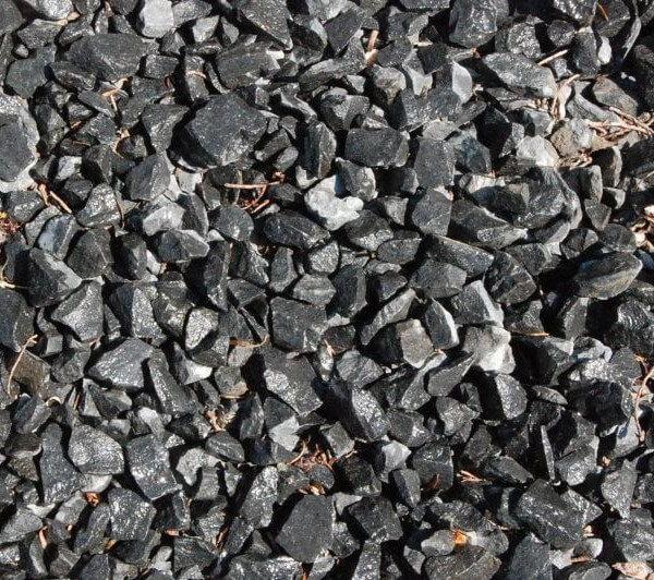 Basalt split (zwart)