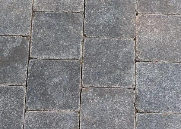 Blue Limestone Getrommeld 14 x 14 x 5